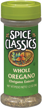 Spice Classics Whole Oregano 1.2 Oz Shaker