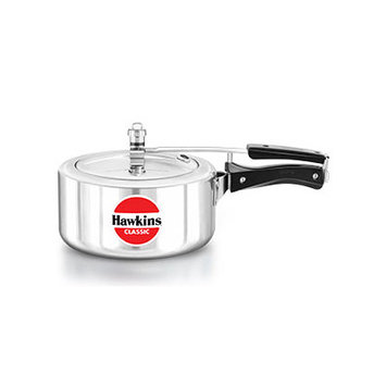 Hawkins Classic New Improved Aluminum Pressure Cooker Size: 3.5 L