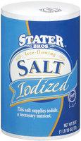 Stater Bros. Free-Flowing Iodized Salt 26 Oz Box