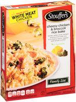 Stouffer's Cheesy Chicken & Broccoli Rice Bake