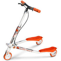 Trikke Tech T5-WTOR - T5 Kids White-Orange