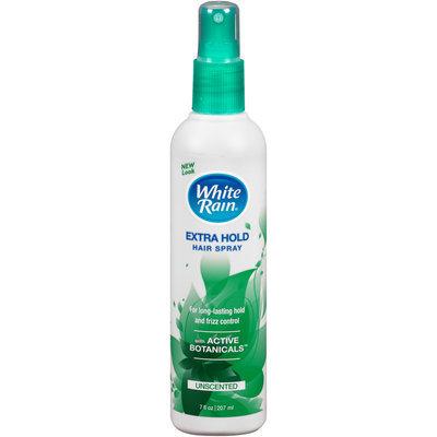 White Rain® Extra Hold Unscented Hair Spray 7 fl. oz. Bottle