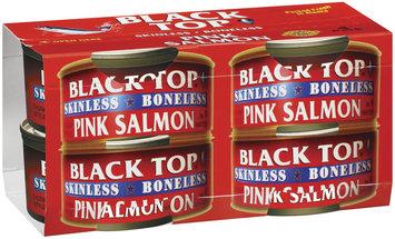 Black Top Skinless Boneless 4 Pk Pink Salmon 6 Oz Cans