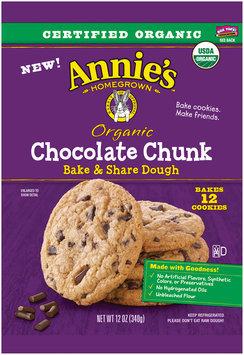 Annie's™ Organic Chocolate Chunk Bake & Share Dough 12 ct Pack
