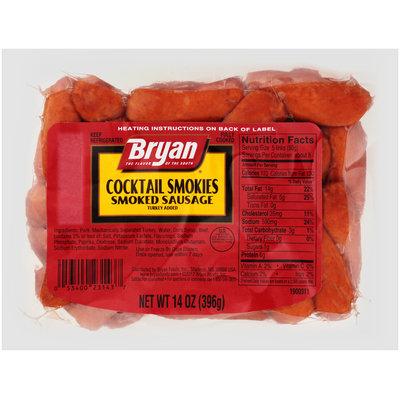 Bryan® Cocktail Smokies Smoked Sausage 14 oz. Pack