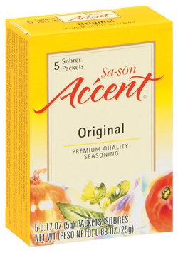 Accent Sa-Son Original 0.17 Oz Packets Seasoning 5 Ct Box