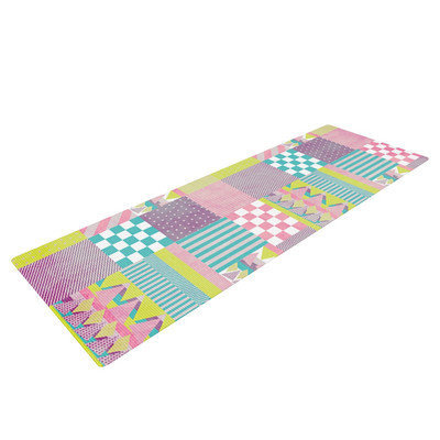Kess Inhouse Patchwork by Louise Machado Yoga Mat