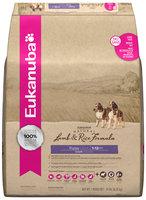 Eukanuba Natural Lamb & Rice Puppy Food 14 lb. Bag