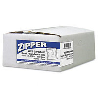 Webster Recloseable Zipper Seal Sandwich Bags, 500 per Carton - Clear