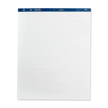 Business Source BSN36586 Easel Pad- Ruled- 50 Sheets- 27inchx34inch- 4-CT- White