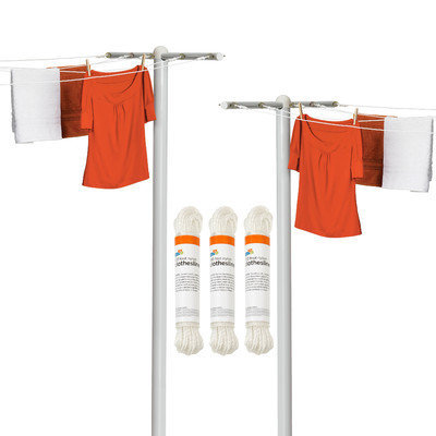 Honey Can Do 5 Piece Outdoor Laundry Drying Set