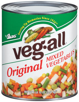 Veg-All Original  Mixed Vegetables 106 Oz Can