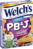 Welch's® Crunchy Concord Grape PB&J Snacks
