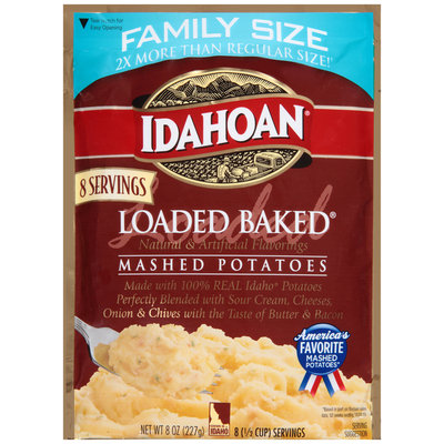 Idahoan® Loaded Baked® Mashed Potatoes 8 oz. Pouch