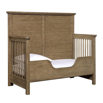 Stanley Driftwood Park Built-to-Grow Toddler Bed Kit Finish: Sunflower Seed