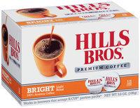 Hills Bros.® Bright Light Roast Premium Coffee Single Serve Cups 12 ct Box