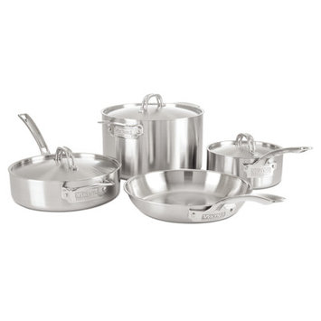Viking 5-ply Stainless Steel Professional 7-piece Cookware Set