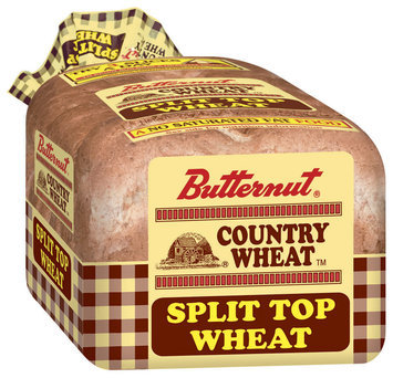 Butternut Country Wheat Split Top Bread 24 Oz Bag
