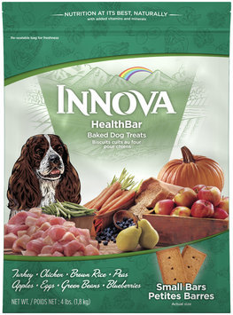 INNOVA HealthBar Small Baked Dog Treats 4 lb. Bag