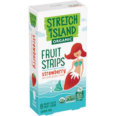 Stretch Island® Organic Strawberry Fruit Strips 6-0.5 oz. Strips