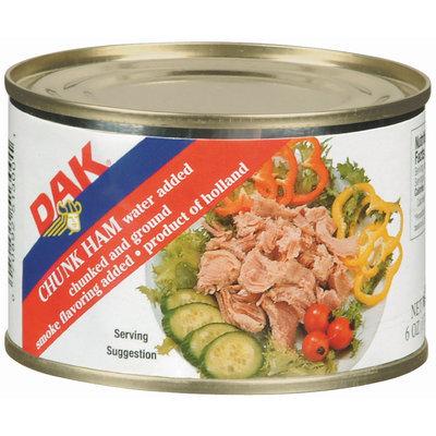 Dak Chunked & Ground Canned Chunk Ham 6 Oz Can
