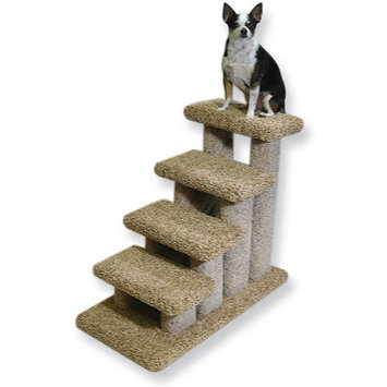 Beatrisepetproducts Deluxe Doggie 4 Step Pet Stair