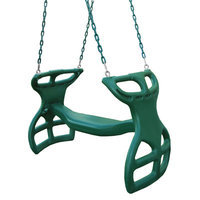 Swing-N-Slide Playsets Swings, Slides & Gyms Dual-Ride Glider Swing Greens NE 3452