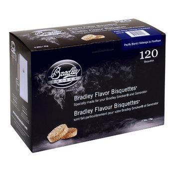 Bradley Smoker BTPB120 Pacific Blend Bisquettes 120Pack