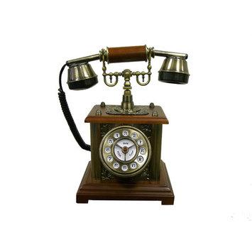 Ore International T04013 Classic Telephone - Mahogany