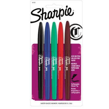 Sanford Calligraphy Pens Assorted Calligraphic Marker Pen Set, Medium