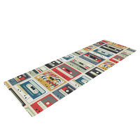 Kess Inhouse Retro Tape by Heidi Jennings Yoga Mat