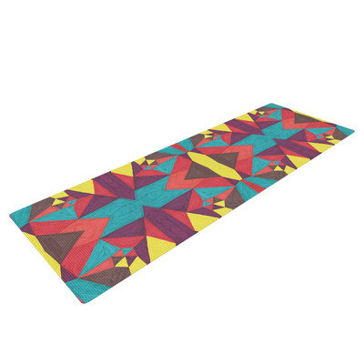 Kess Inhouse Abstract Insects by Empire Ruhl Yoga Mat