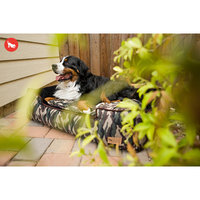 PLAY Camouflage Green Lounge Dog Bed Small