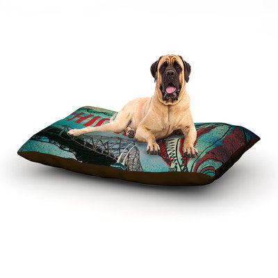 Kess Inhouse 'Chicago' Dog Bed, 60 L x 50 W