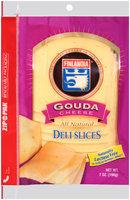 Finlandia® Natural Gouda Cheese Deli Slices 7 oz. Pack