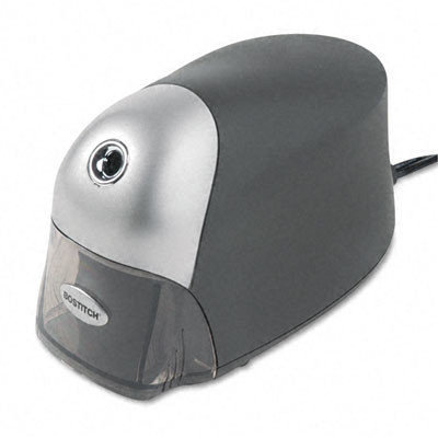 Stanley Bostitch Quiet Sharp Executive Electric Pencil Sharpener, Black