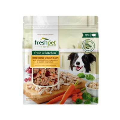 Freshpet® SELECT FRESH FROM THE KITCHEN™ HOME COOKED CHICKEN RECIPE