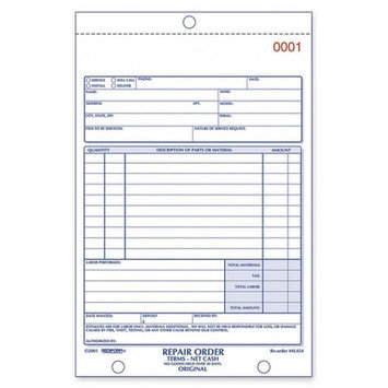 Rediform Forms, Recordkeeping & Reference Materials