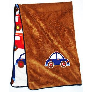 Bacati Transportation Baby Blanket
