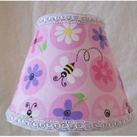 Silly Bear Fun Flower Garden Table Lamp Shade
