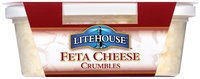 Litehouse® Handcrafted Feta Cheese Crumbles 4 oz. Tub