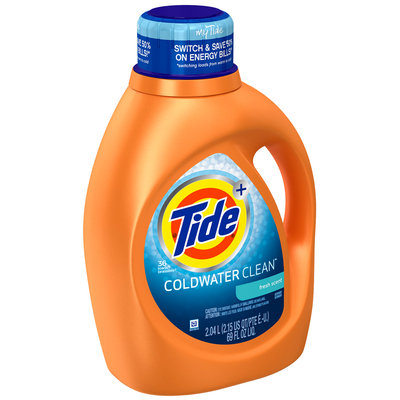 Tide Coldwater Clean Fresh Scent Liquid Laundry Detergent 69 fl. oz. Bottle