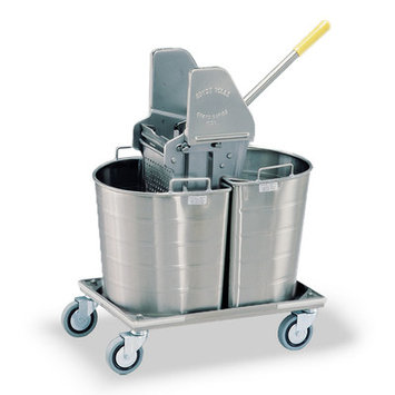 Royce Rolls Tapered Double Tank Mopping Unit Tank Capacity: 7 gal