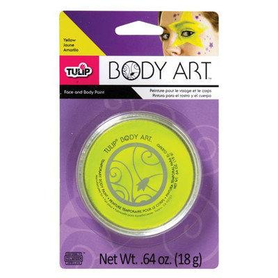 Tulip D28818 Body Art Neon Yellow Paint