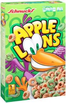 Schnucks® Apple Loons® Sweetened Multi-Grain Apple Flavored Cereal 12.2 oz. Box