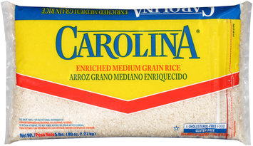 Carolina® Enriched Medium Grain Rice 5 lbs. Bag