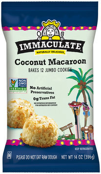 Immaculate® Coconut Macaroon Cookie Dough 12 ct Pack