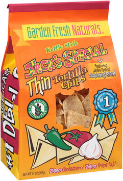 Garden Fresh Naturals® Kettle Style Jack's Special Thin Tortilla Chips 14 oz. Bag