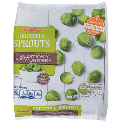 Fred Meyer® Brussels Sprouts 12 oz. Bag