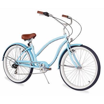 Beachbikes Women's Chief Beach Cruiser Bicycle Frame Color: Baby Blue